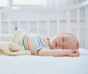 Bébé qui dort paisiblement