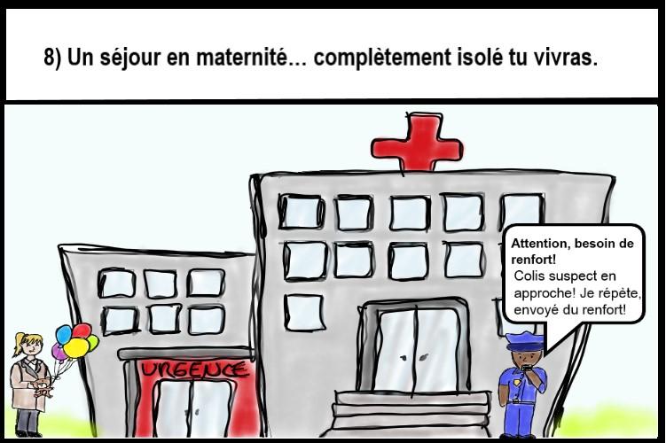 Visiteur interdit à l'hôpital
