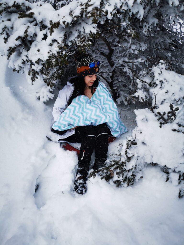 Allaiter en plein hiver